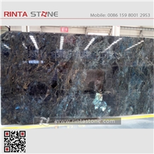 Madagascar Blue Granite Stone Rinta Slabs