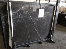 Black Marquno Slabs, Black Marquino Marble