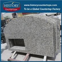 Brazil Yellow Butterfly Gold Granite Countertops