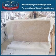 Chinese Golden Beige Kitchen Granite Counter Top
