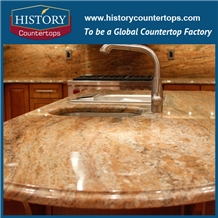 Gold Star Granite Polished Kitchen Countertops