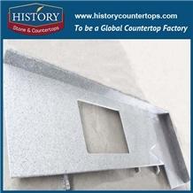 Prefab China White Granite Kitchen Countertops
