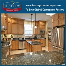 Verde Butterfly Green Granite Countertops