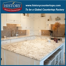 White Mirror Slim Granite Kitchen Top Countertops