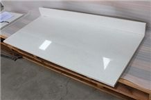 Craystal White China Cheap Quartz Table Tops