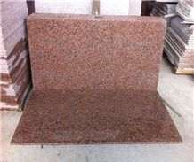 G562 Granite Slabs & Tiles, China Red Granite