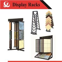 A Frame Tile Display Racks Stone Mosaic Display Shelves Marble Stands
