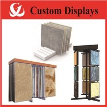 Sample Boards Mosaic Tile Display Racks Artificial Stone Shelves