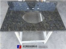 China Butterfly Oasis Blue Granite Stone,Bath Vanity Tops Countertops
