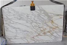 Calacatta Borghini, Calacatta Gold, Calacata Carrara Oro Marble Slabs