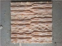 Wanxiahong Marble Veneers Stone Wall Cladding Decoratio Cultured Panel