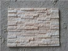 White Marble Veneers Cladding Panels Cultured Stone Wal Deco Stacked