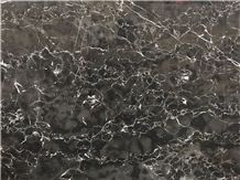 Black Ocean Marble Slabs & Tiles, Iran Black Marble