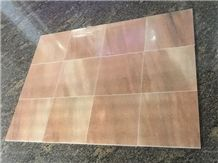 China Red Marble Tiles, Sunset Glow Red Cloudy Rosa Marble Tiles
