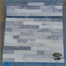 P006 Snow White Wall Slate Culture Stone Veneer