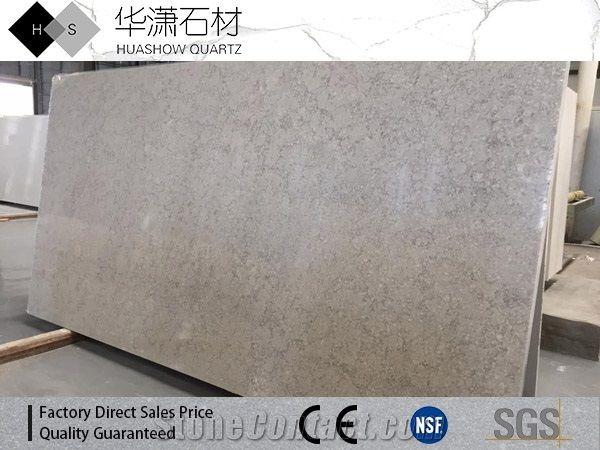 quartz slab for sale white quartz royal botticino quartz slab on sale begei color with grey veins xiamen huashow impexpcoltd