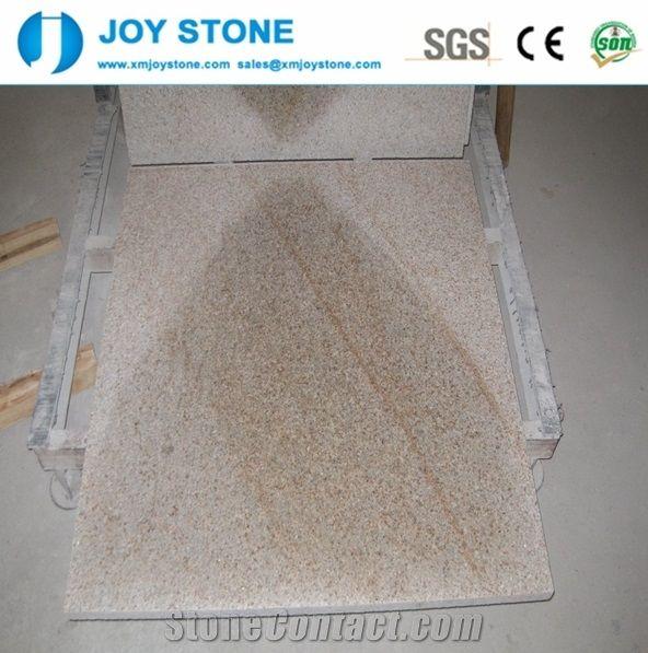 Home Granite Tiles Slabs China Best Price Sunset Gold G682 Flooring
