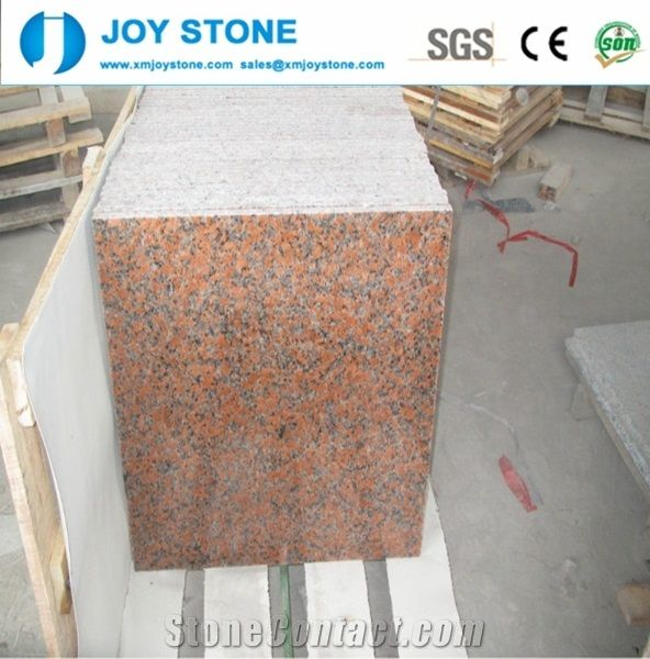 Wholesale Polished Natural G56224x24maple Red Granite Floor Tile