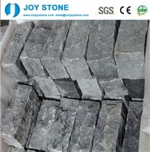 Cheap Dark Gray Padang Black G654 Outdoor Driveway Cube Stone Pavers