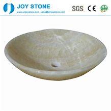 Elegant Design Carrara White Marble Wash Basin