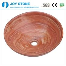 Factory Supply Custom Decorative Marble Wash Basin