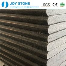 Polished China Jasberg G654 Dark Grey Granite 3cm Stair Case Step