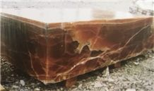 Iran Brown Onyx Blocks