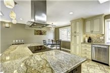 Golden Shadow Granite Kitchen Bench Tops