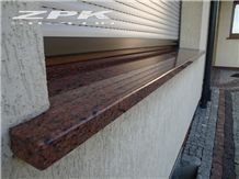 Universal Red Granite Window Sills