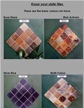 Rich Autumn Slate Tiles