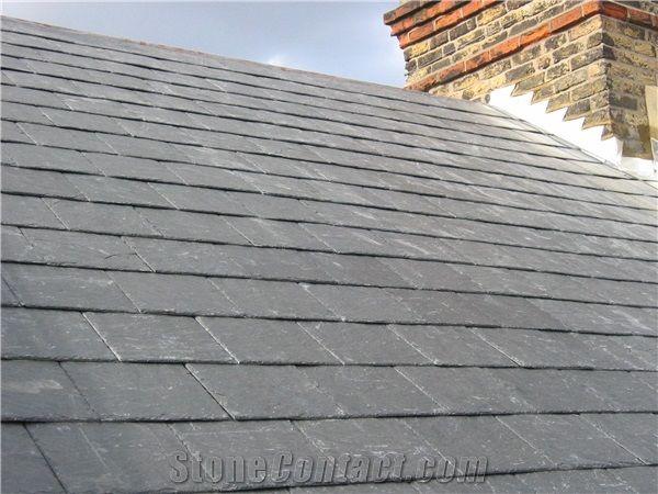Silver Blue Slate Roofing Tiles