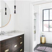 Calacatta Mint Marble Bathroom Top