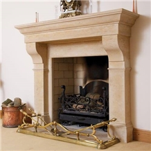 Greetham Stone Indoor Fireplace