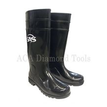 Steel Toe Rubber Boots- Size 9