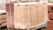 Wloch Sandstone Sawn Cut Wall Parapets