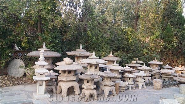 Japanese Style Garden Lantern Stone, Oriental Stone Garden Lanterns