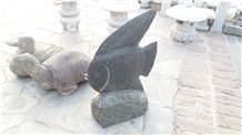 Natural Granite/Marble Animal Sculptures,Statues,Hand Carved Stone