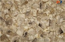 Ice Cloudy Semiprecious Stone Lighting Gemstone Tiles & Slabs