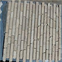 China Polished Multicolorful Marble Mosaic with Customized Shape Stone