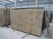 Polished Diamond Gold Granite Tiles&Slabs Flooring&Walling