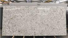 Chinese Engineered Flooring Artificial Stone,Flower Veins Quartz Slabs