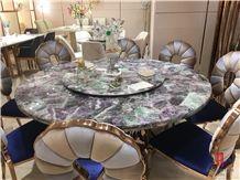 Luxury Fluorite Stone,Fluorite Crystal Backlit for Sale