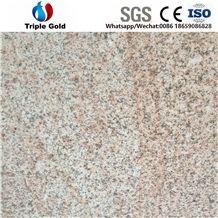 G682,Shandong Rusty Yellow,Desert Gold,Golden Sand,Granite Flamed