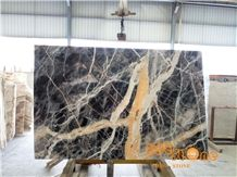 Black Jungle Marble Tiles & Slabs/Chinese Trump Black Floor Covering