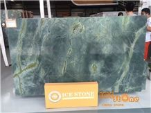 Dark Green Chinese Marble Slabs&Tiles/Edinburgh Green/Bookmatched