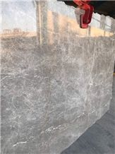 Anna Grey Persian Silk Emprador Marble Slabs