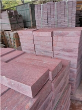 Good Price Chinese Red Porphyry Paver Paving Stone