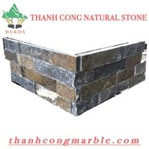 Crystal Rusty Corner Shape Stone Panels 02