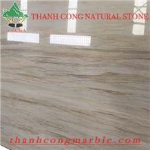 Vietnam Wooden Vein White Marble 01