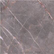 Caster Gold Vein Rose Grey Marble Slab,Floor Covering Panel Hotel Project